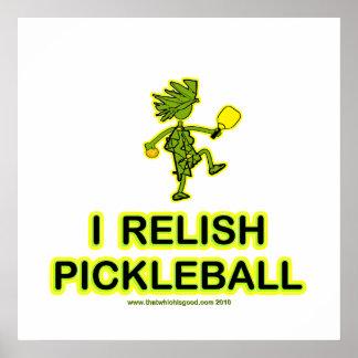 Disfruto con el camisetas y los regalos de Pickleb Posters