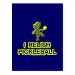 Disfruto con el camisetas y los regalos de Pickleb Tarjetas Postales