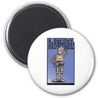 Disfunción eléctrica imán de frigorifico