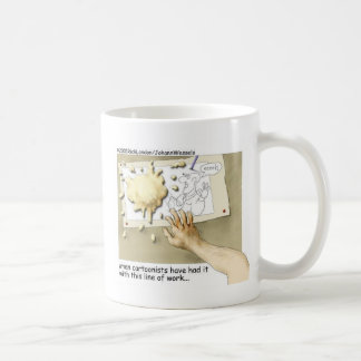 Disgruntled Cartoonist Funny Gifts & Collectibles Coffee Mug