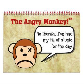 Disgruntled Employee 2016 12 Month Calendar