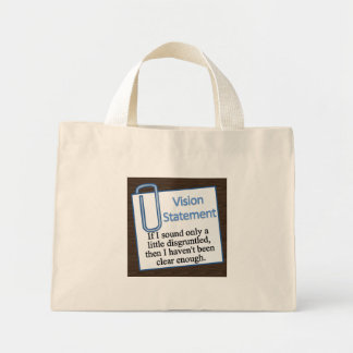 Disgruntled Employee Mini Tote Bag