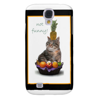 Disgruntled kitty galaxy s4 cover