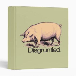 Disgruntled Pig Binder