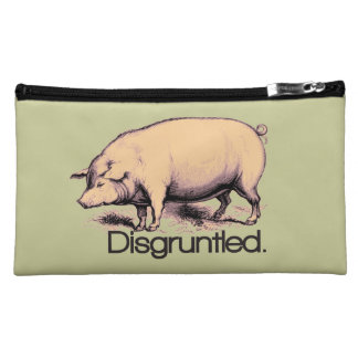 Disgruntled Pig Cosmetic Bag