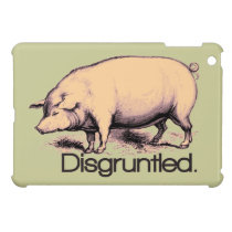 Disgruntled Pig Cover For The iPad Mini
