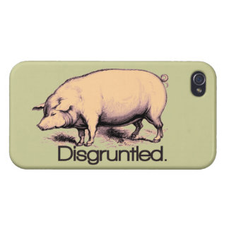 Disgruntled Pig Covers For iPhone 4