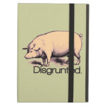Disgruntled Pig iPad Air Case