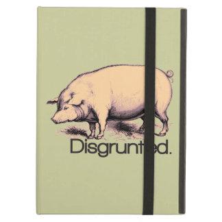 Disgruntled Pig iPad Covers