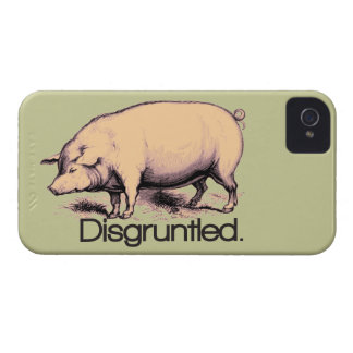 Disgruntled Pig iPhone 4 Case-Mate Case