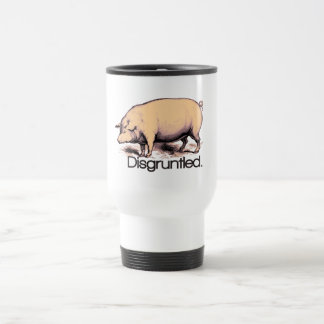 Disgruntled Pig Travel Mug