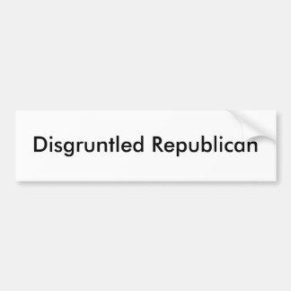 Disgruntled Republican 2 Bumper Sticker