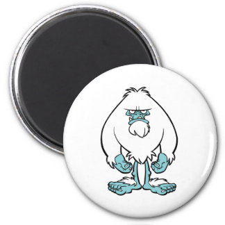 Disgruntled Yeti Magnet