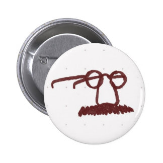 disguise pinback button