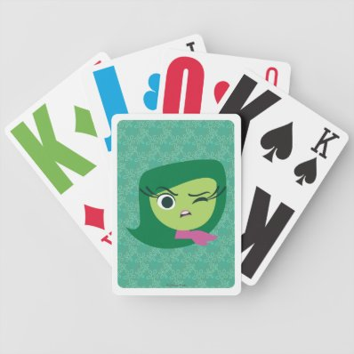 Disgust Bicycle Playing Cards