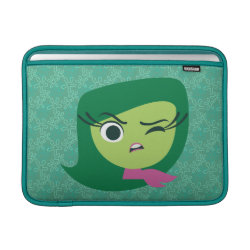 Macbook Air Sleeve with Cute Cartoon Disgust from Inside Out design