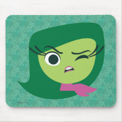 Mousepad with Cute Cartoon Disgust from Inside Out design