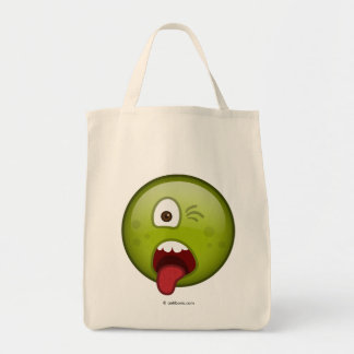 Disgusted Green Tote Bag