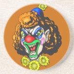 Disgusting Evil Clown Coasters