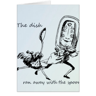 Dish and the Spoon Greeting Cards