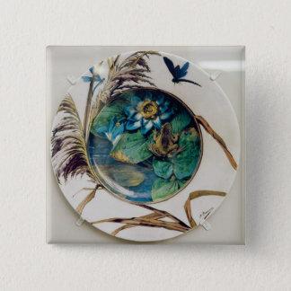 Dish, c.1870-80 pinback button