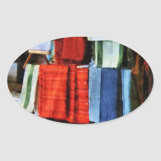 Dish Cloths For Sale Oval Sticker