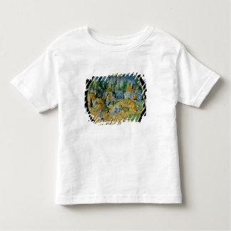 Dish depicting the gathering of manna t-shirt