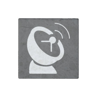 Dish Mixes Icon Stone Magnet