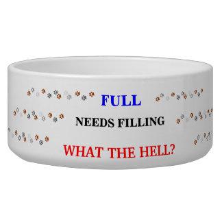 Dish Needs Filling