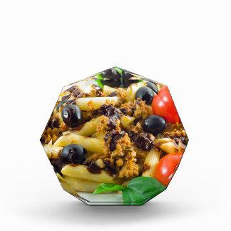 Dish of Italian pasta with bolognese sauce Award