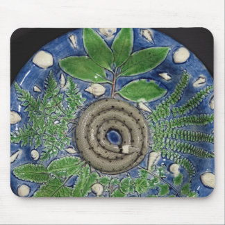Dish, Palissy Ware Mouse Pad