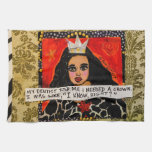 Dish towel- my dentist told me I needed a crown an Kitchen Towel