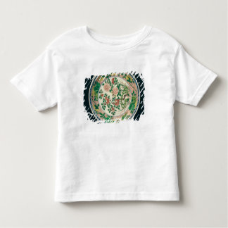 Dish with famille verte decoration toddler t-shirt