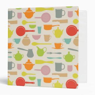 Dishes Pattern Binder