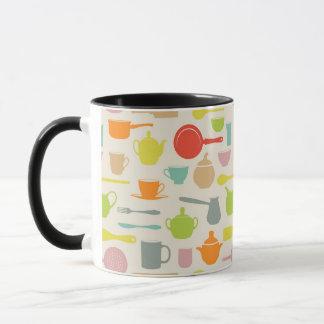 Dishes Pattern Mug