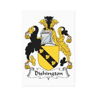 Dishington Family Crest Canvas Prints