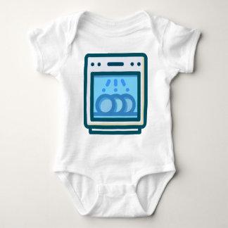 Dishwasher Baby Bodysuit