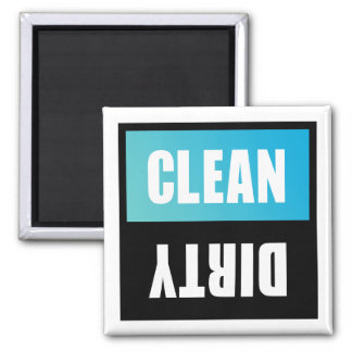 Dishwasher Clean or Dirty Sign Fridge Magnets