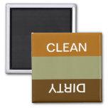 Dishwasher Magnet (Browns) Refrigerator Magnets