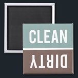 """Dishwasher Magnet CLEAN 
