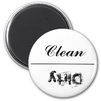 """Dishwasher Magnet """"Clean or Dirty"""""""