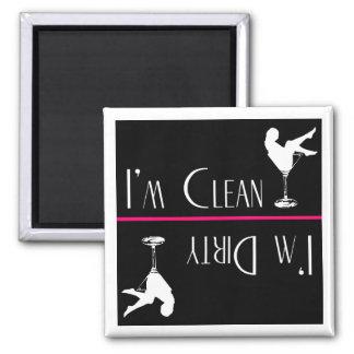 Dishwasher Magnet--Dirty Girl