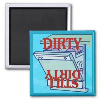 Dishwasher Magnet, DIRTY Magnet