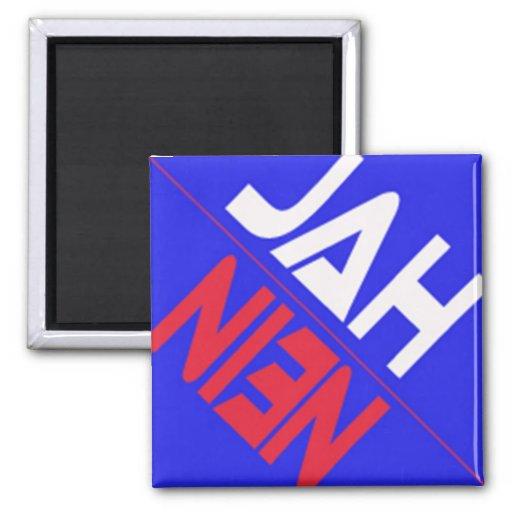 DISHWASHER MAGNET - JAH ODER NEIN