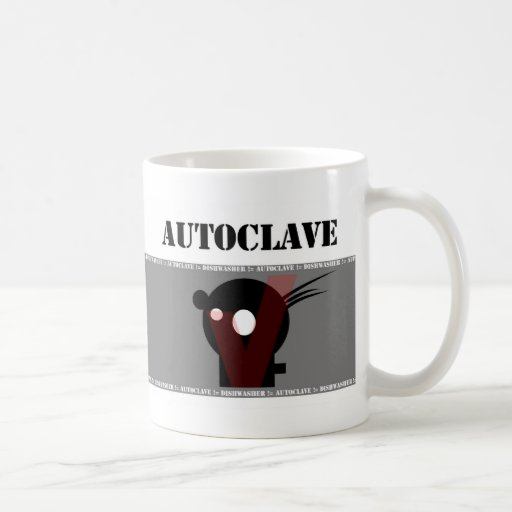 Dishwasher not equal Autoclave Coffee Mugs