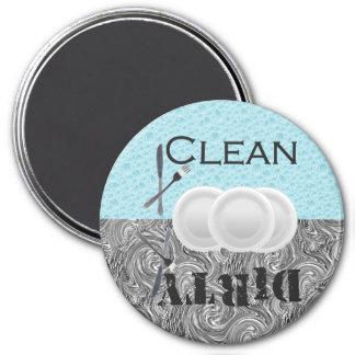 Dishwasher Suds 3 Inch Round Magnet