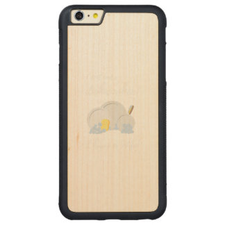 Dishwasher Women Funny Carved Maple iPhone 6 Plus Bumper Case