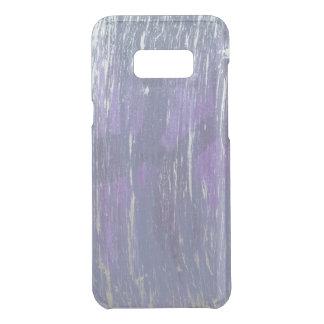 Disillusioned Tech   Violet Plum Purple Silver Uncommon Samsung Galaxy S8+ Case