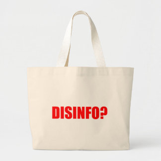 Disinfo? Canvas Bags