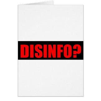 Disinfo? Card